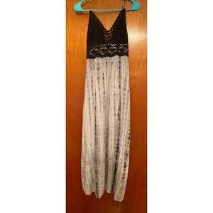 New! Xhilaration Tie Dye Maxi Dress